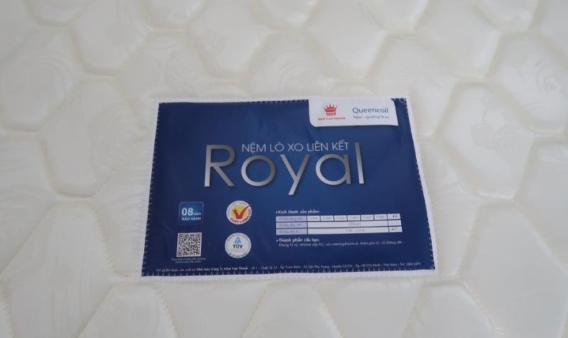 Nệm lò xo Royal Vạn Thành